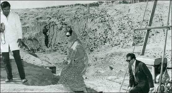 Image result for indira gandhi at pokhran