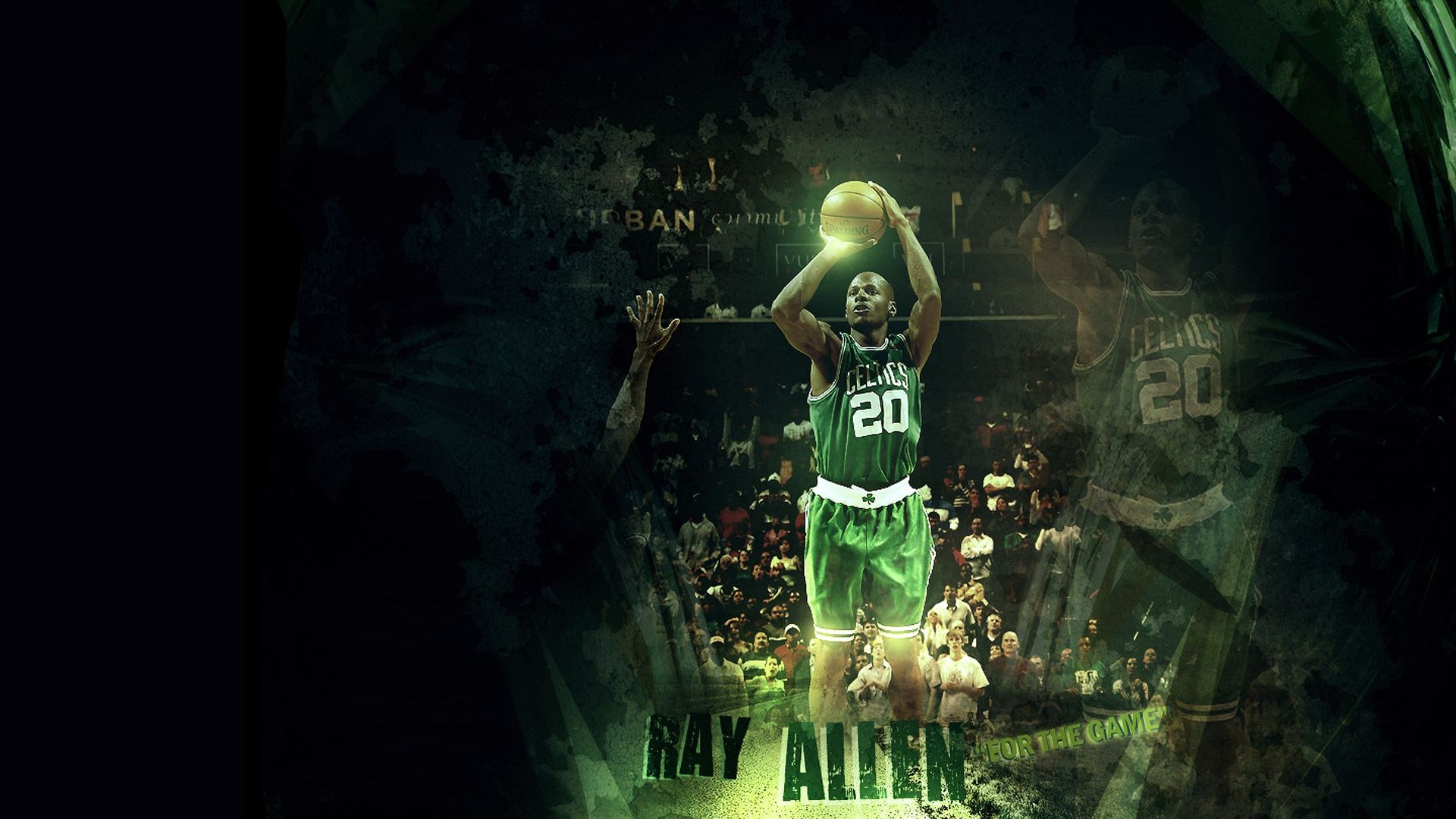walter ray allen, basketball, player - http://www.wallpapers4u.org/walter-ray-allen-basketball-player/