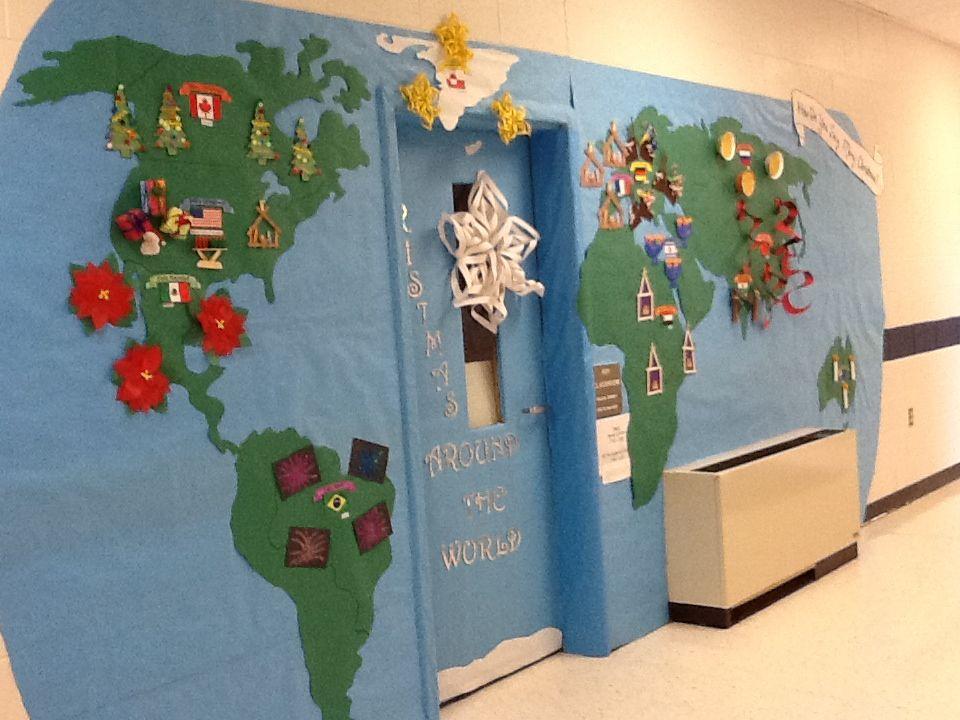 Christmas Door Decorating Contest | PreK | Pinterest ...