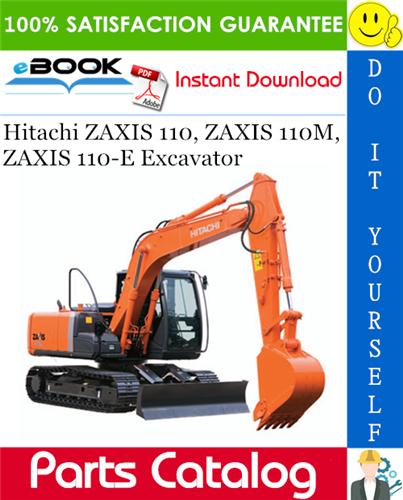 Hitachi ZAXIS 110, ZAXIS 110M, ZAXIS 110E Excavator Parts