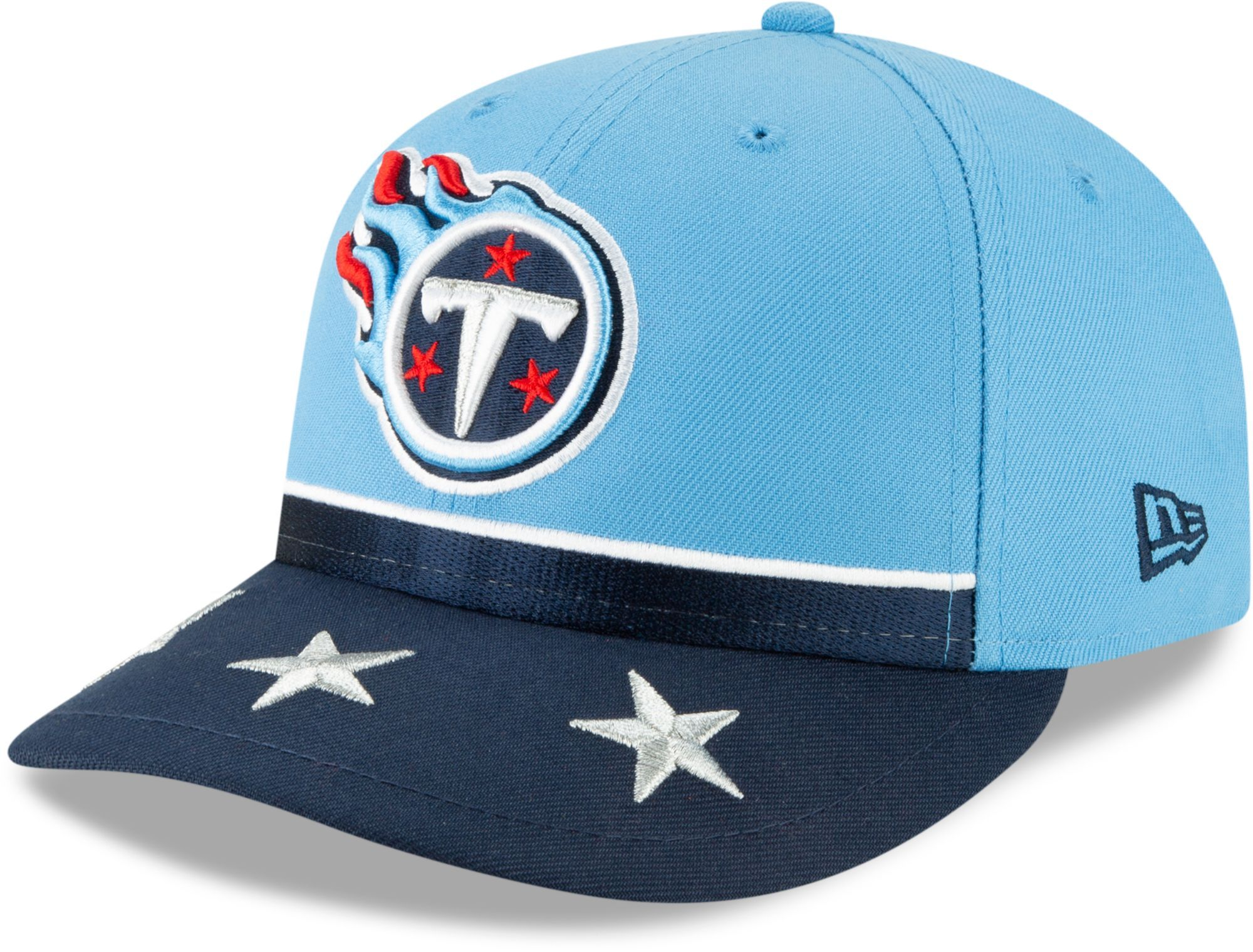sneakers for cheap bf890 e7c19 New Era Men s Tennessee 2019 Draft 59Fifty Fitted Blue Hat, Size  7 3 8,  Team