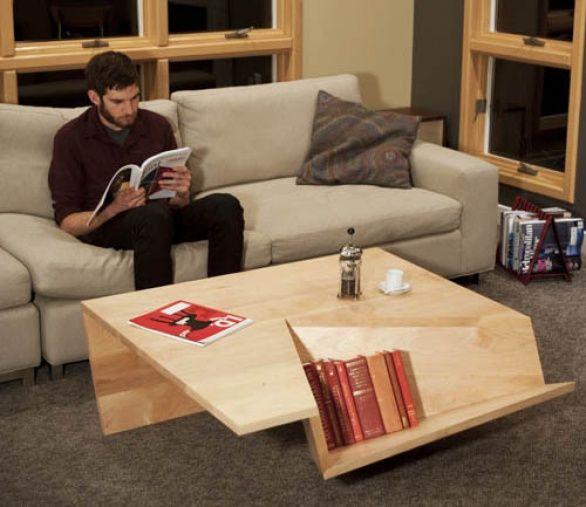 Nook Coffee Table, un tavolino da salotto per ospitare libri e ...