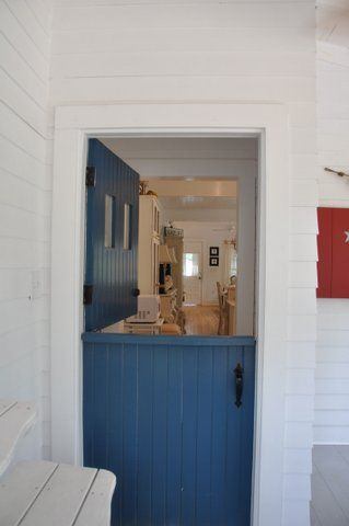 Jane Coslick Cottages : Gonga's Cottage......Featured in Coastal Living Magazine.  I need a farm door.