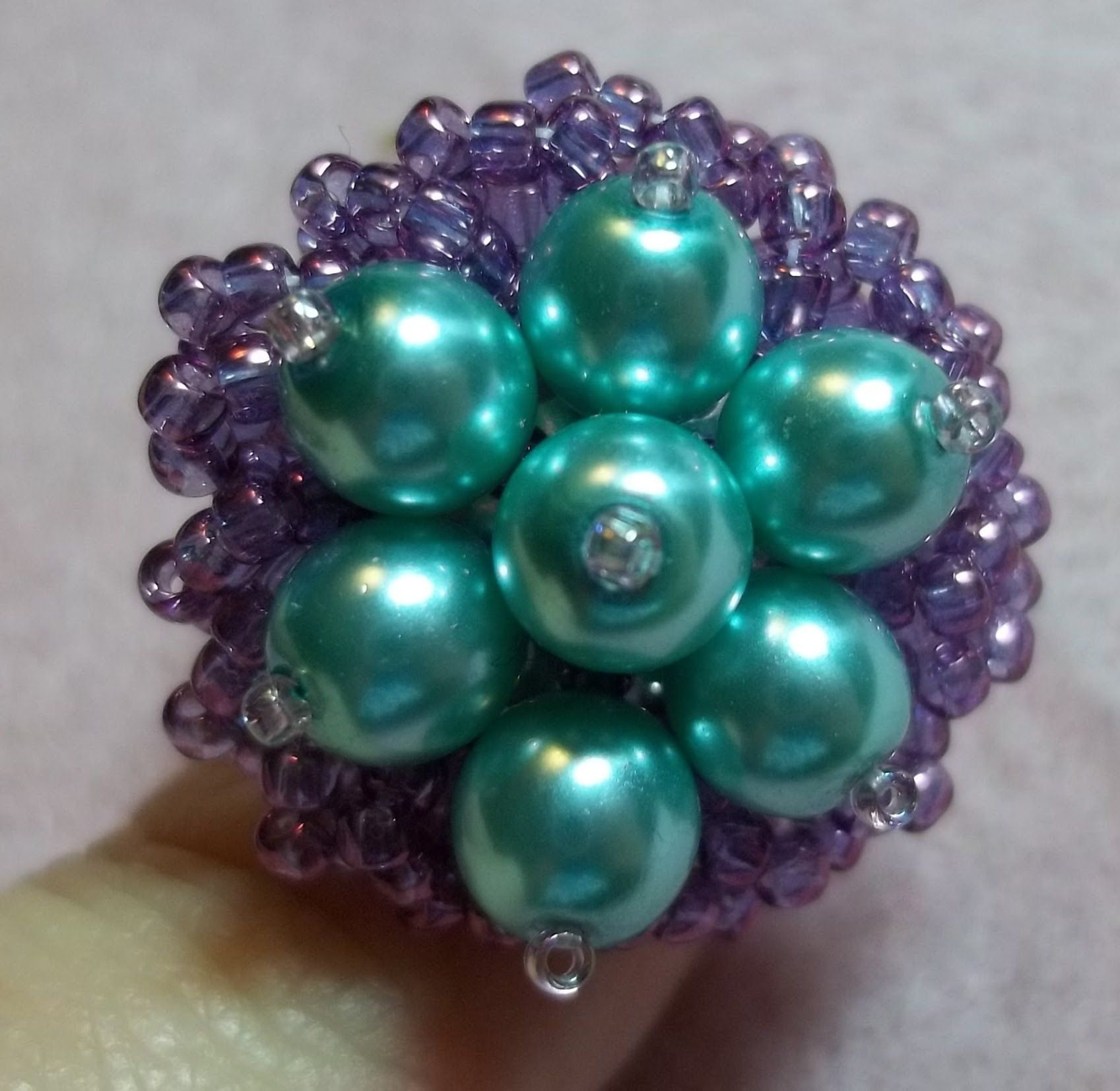 Flower Nest Ring