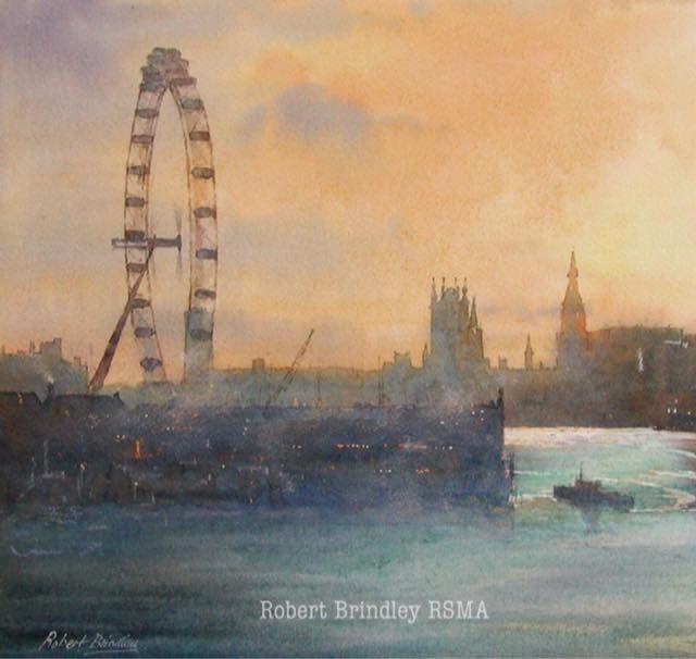 Robert Brindley, 'Millennium Wheel, London'.