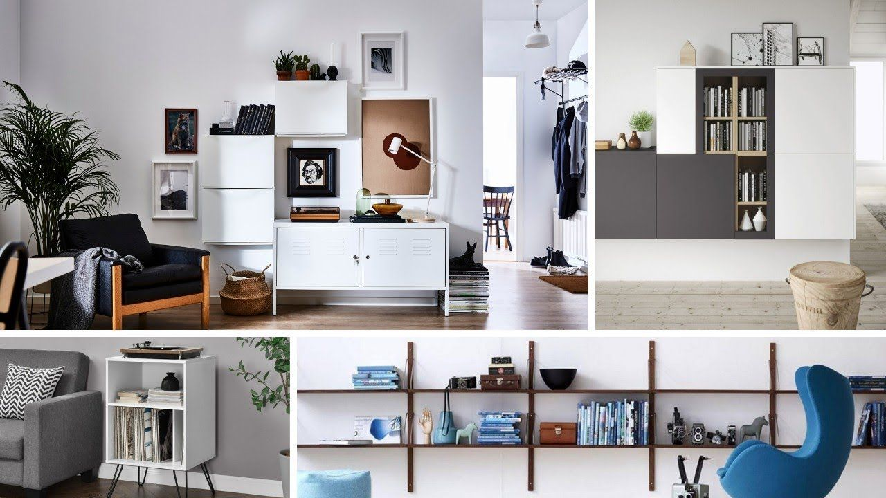 50 Ikea Small Living Room Storage Ideas Youtube Ikea Living