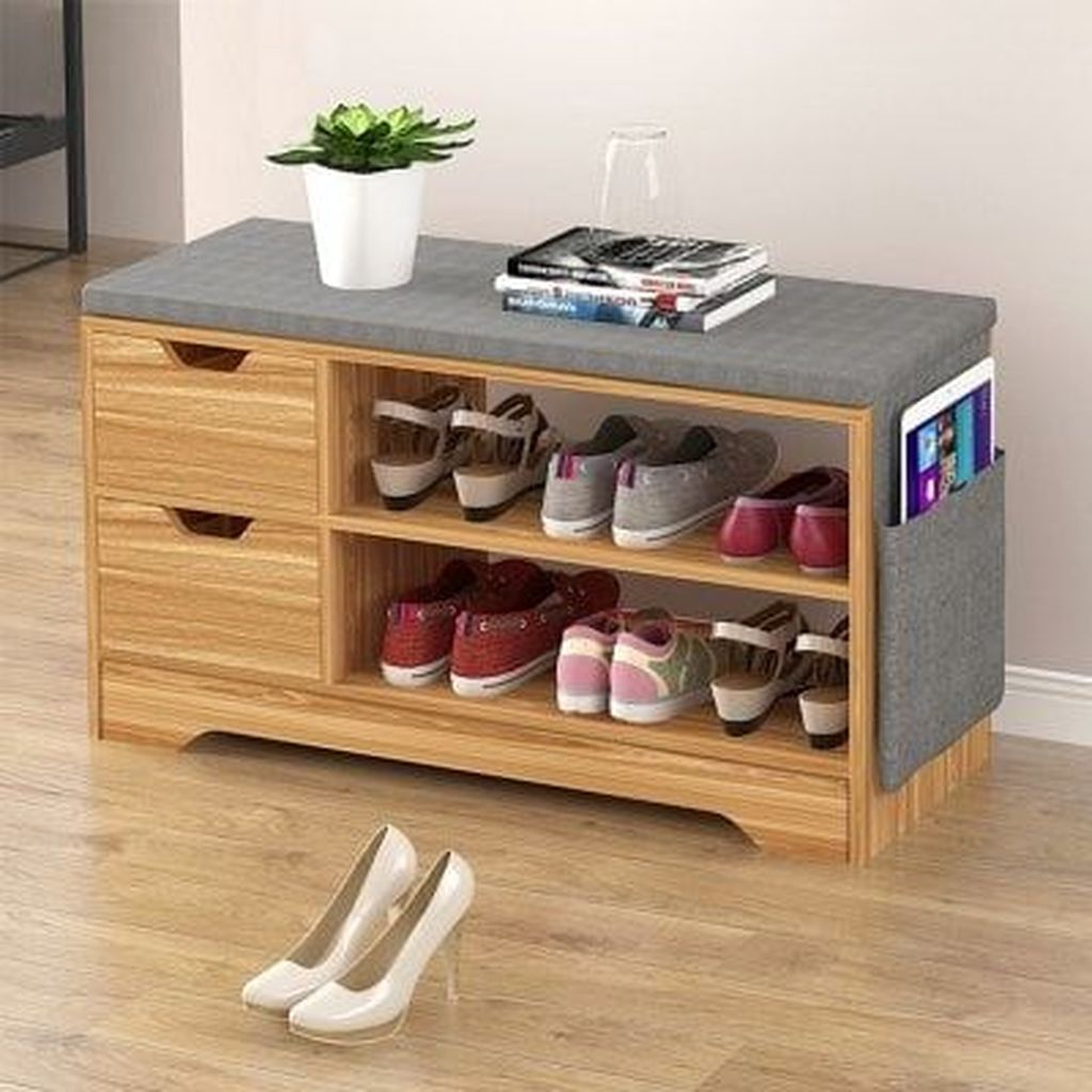 20+ Stunning Shoes Storage Ideas You Can Do It | Mobilier de salon, Rangement chaussures, Meuble ...