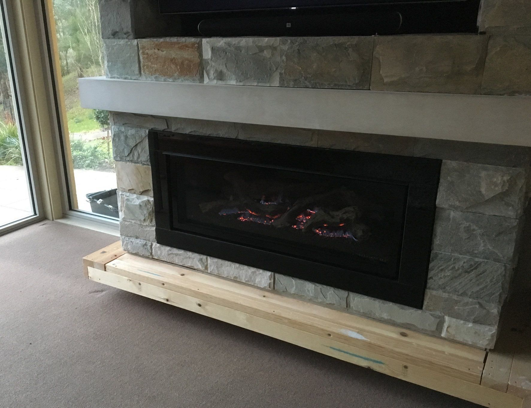 Pin By Decor Stone On Fireplace Installation By The Gas Log Fire