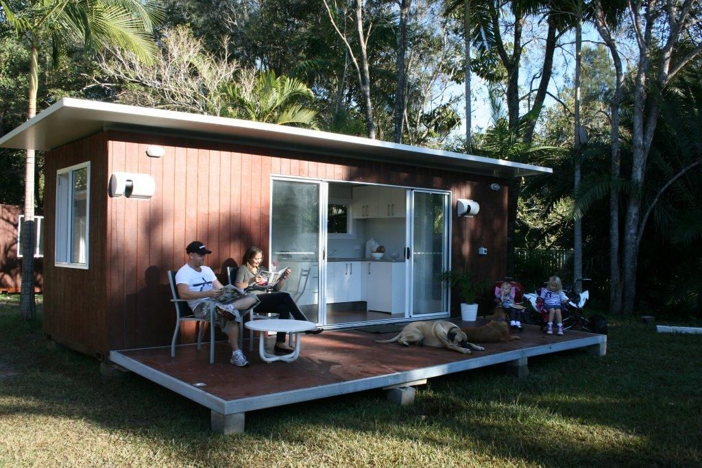 Shipping Container Cabin Granny cabin 20FT 6m x 24m build me