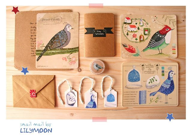 Blue Bird Snail Mail