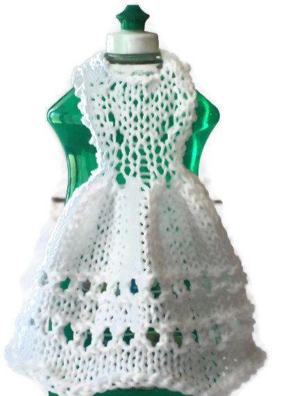 Dishcloth Dress Cotton Knit Knitting Pinterest Crochet Knit
