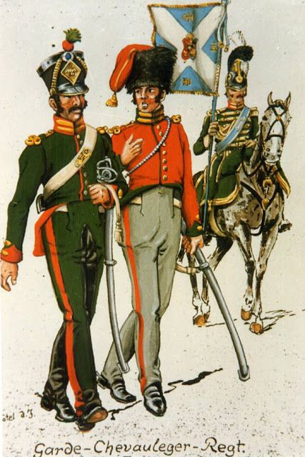 Regno DI Westfalia - Garde, Chevaulegére Regiment