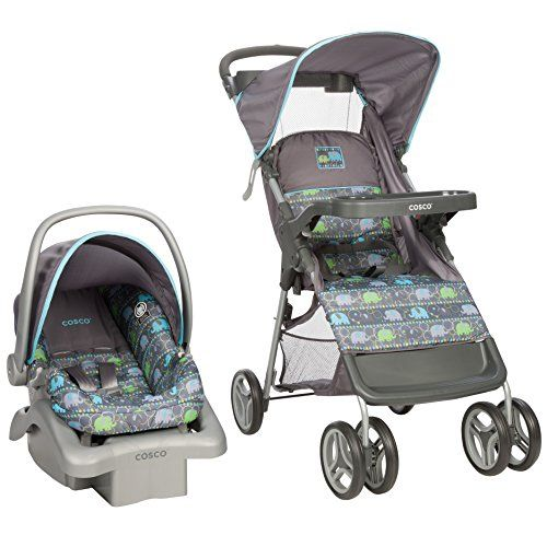 Cosco Lift And Stroll Travel System Elephant Circus