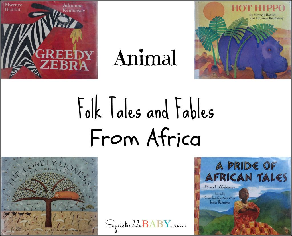 African Animal Folktales And Fables