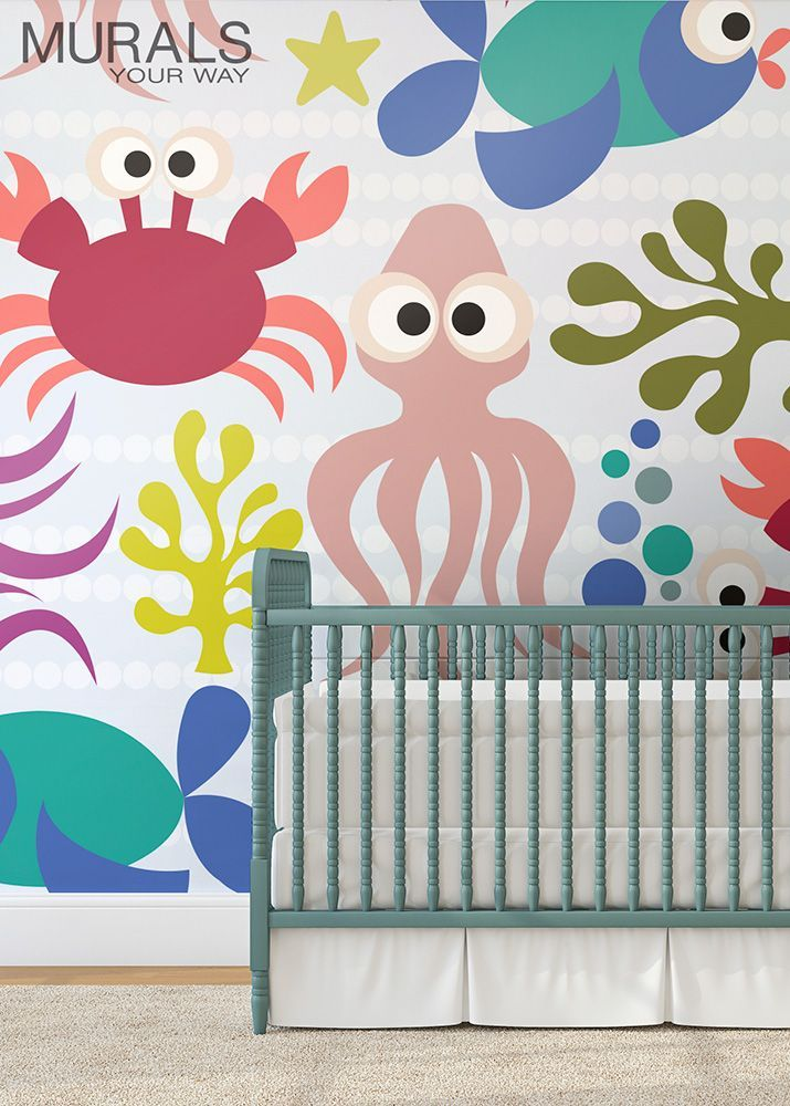 What A Great Look For The Nursery! Welcome Baby Home With A Bright And  Cheerful