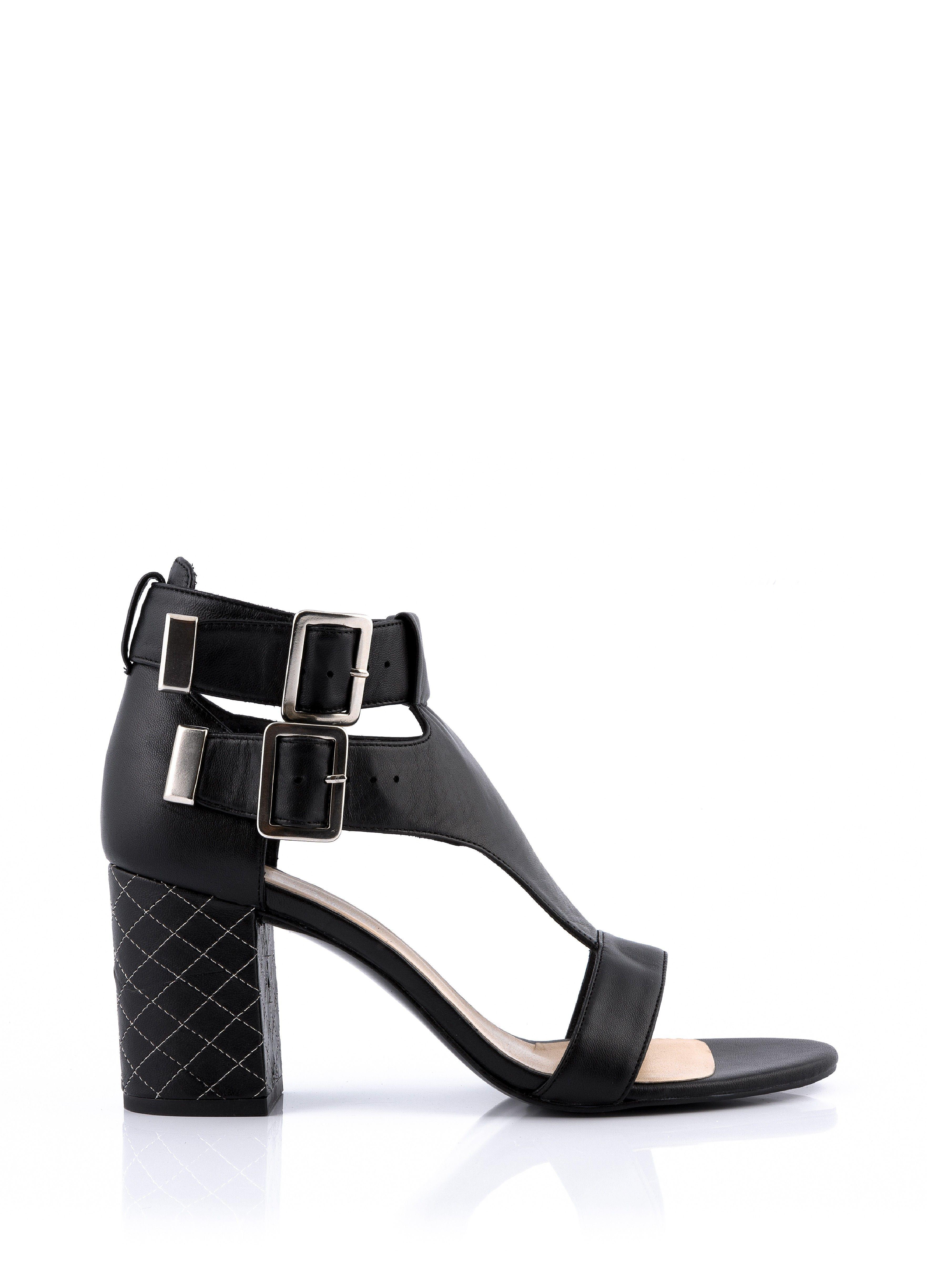 Talons Chaussures À Noir Femme Talon Sandale Seeme Sandales dCtxsrhQ