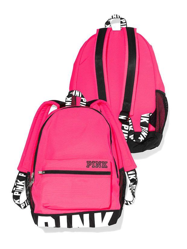 ef4ba53a13fcf Campus Backpack - PINK - Victoria's Secret | Random in 2019 | Vs ...