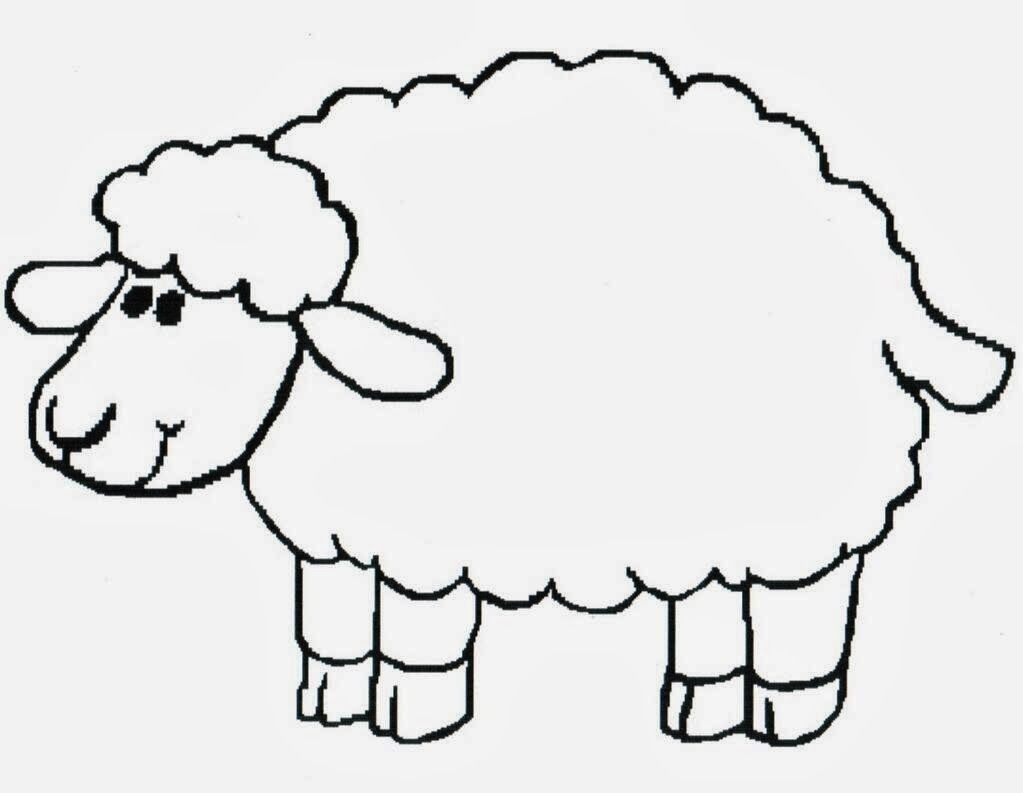 Lamb Print Out Coloring Pages You Can Print Out Sheep Drawing