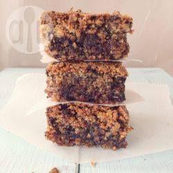 Glutenfreier Mandel-Schokoladenkuchen - Dieser köstliche Kuchen wird mit nur 5 Zutaten gemacht. Er hat ein bisschen die Konsistenz von einem Brownie. @ de.allrecipes.com