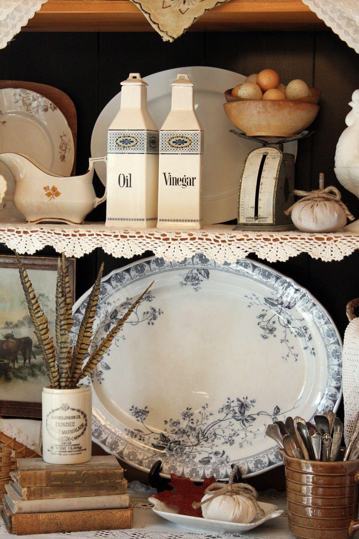 A Piece of Pretty… #vintage plates #homewares