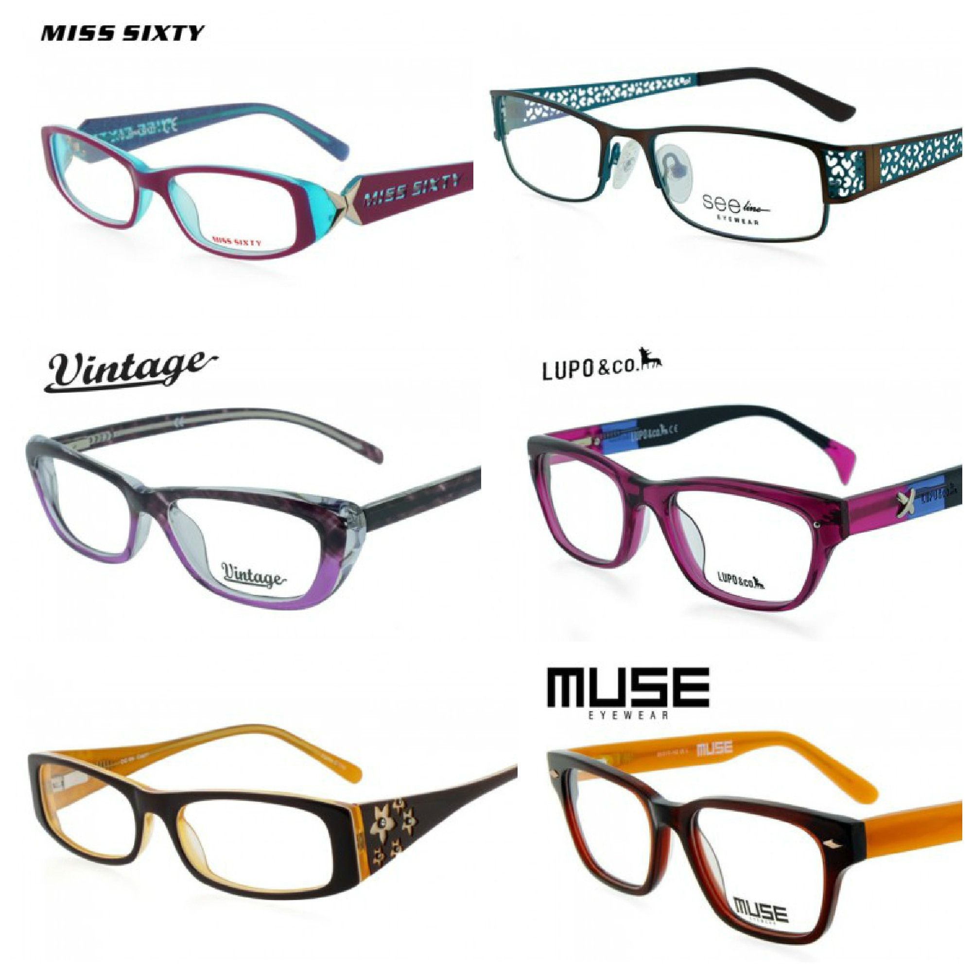 trendy eyeglasses fun affordable order online free shipping discount code ships anywhere in the world glassesusacom eye glasses pinterest