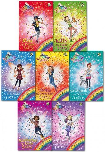 Rainbow Magic Series 20 Baby Animal Rescue Fairies Books  by Daisy Meadows   #RainbowMagic #Magic #Fairy #Faries #AnimalRescue #Book #ChildrensBook #BabyAnimal  http://www.snazal.com/rainbow-magic-series-20-baby-animal-rescue-fairies-books-col--DEALMAN-U5-RmByAnRs-7bks(134-140).html