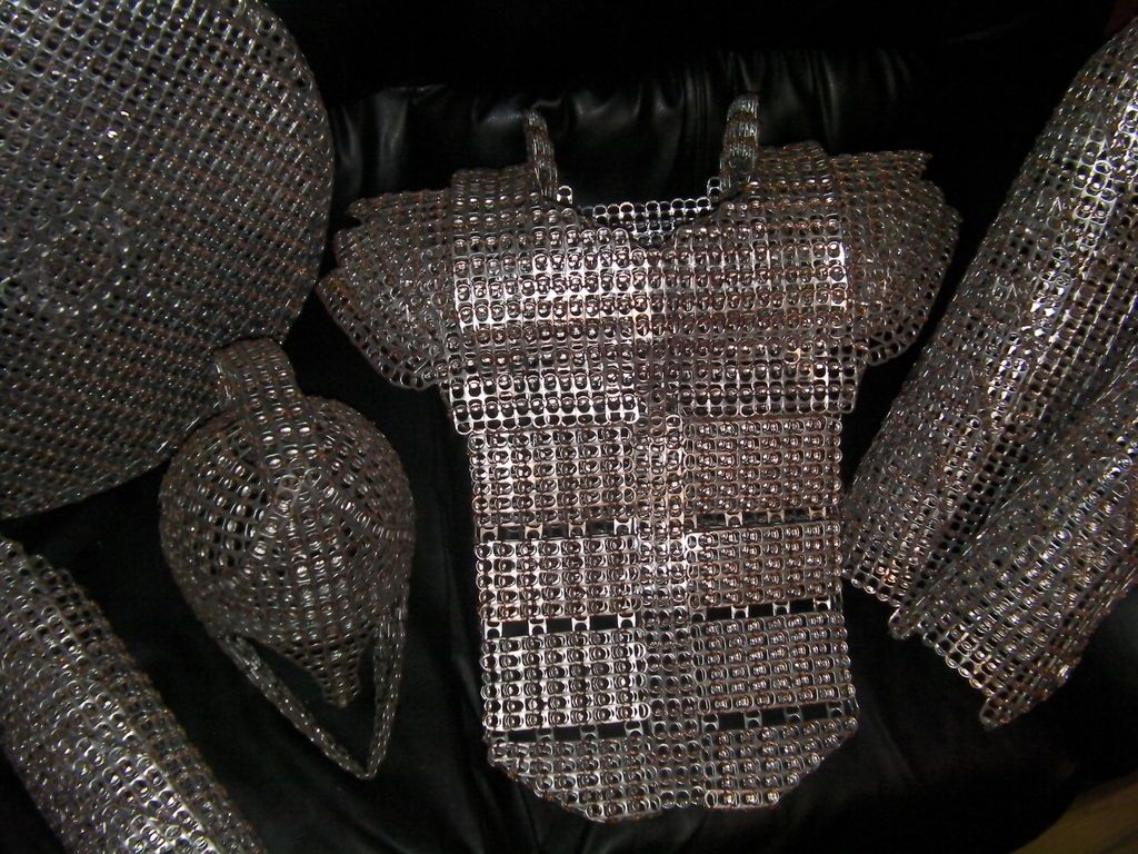 Soda pop tabs crafts - Pop Tab Chainmail This Is Crazy No This Is Sparta