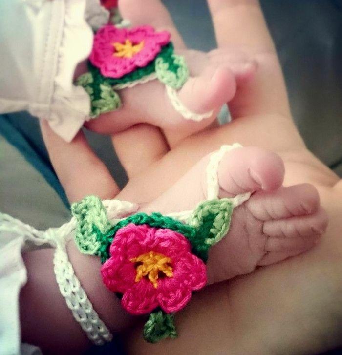 Newborn Barefoot Sandals Crochet Pattern | future.babies ...