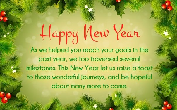 business clients new year wishes