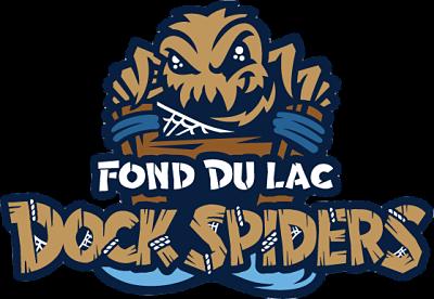Id 65ed2ea162355065d4e867ffe6e6998d0360889d Fond Du Lac Dock Spiders Primary Logo Northwoods League Nwoodsl Sports Logo Sports Team Logos Embroidery Logo