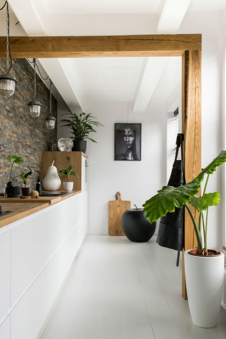 White Interior With Industrial Flair   Decoholic