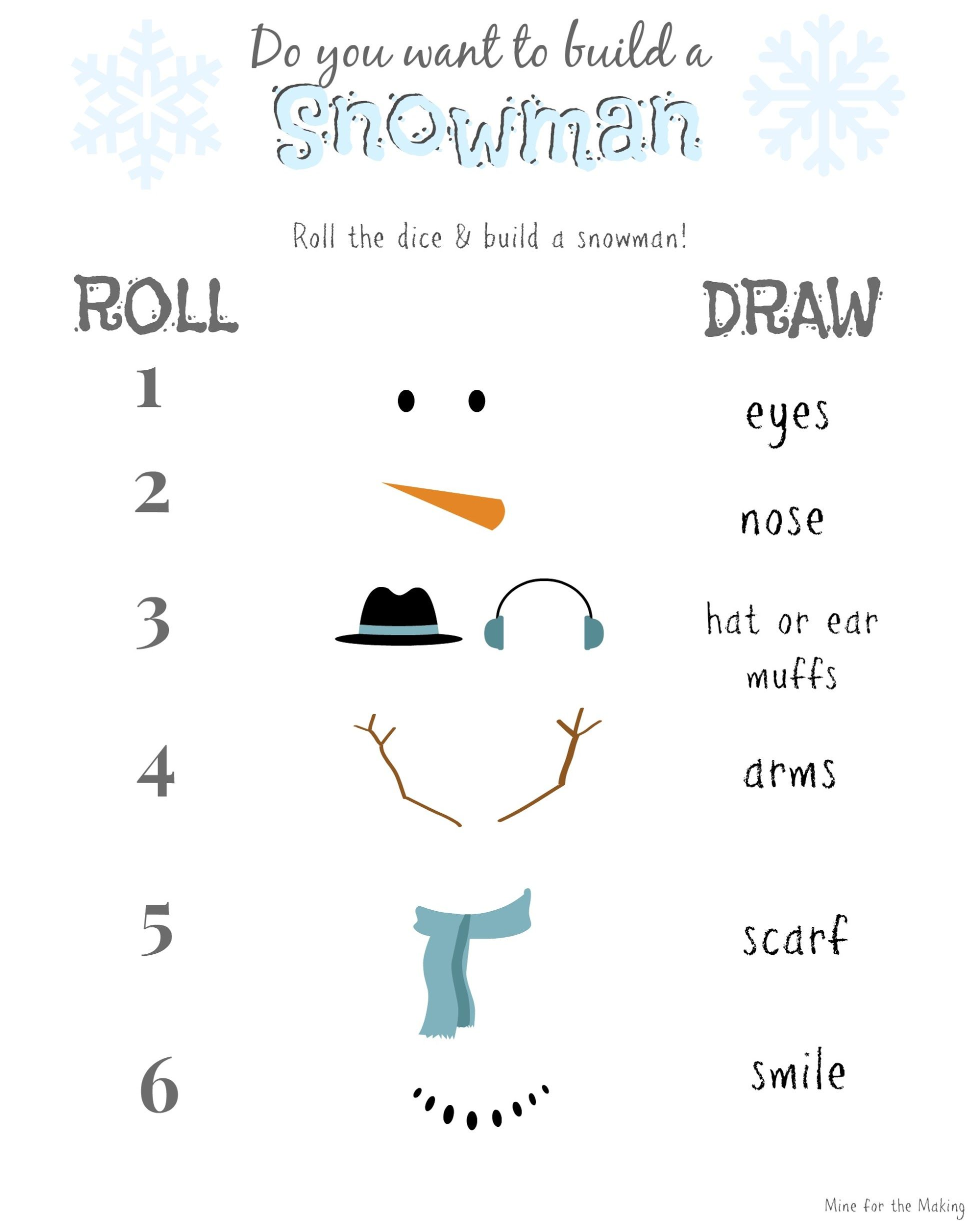 Displaying Build A Snowman 1