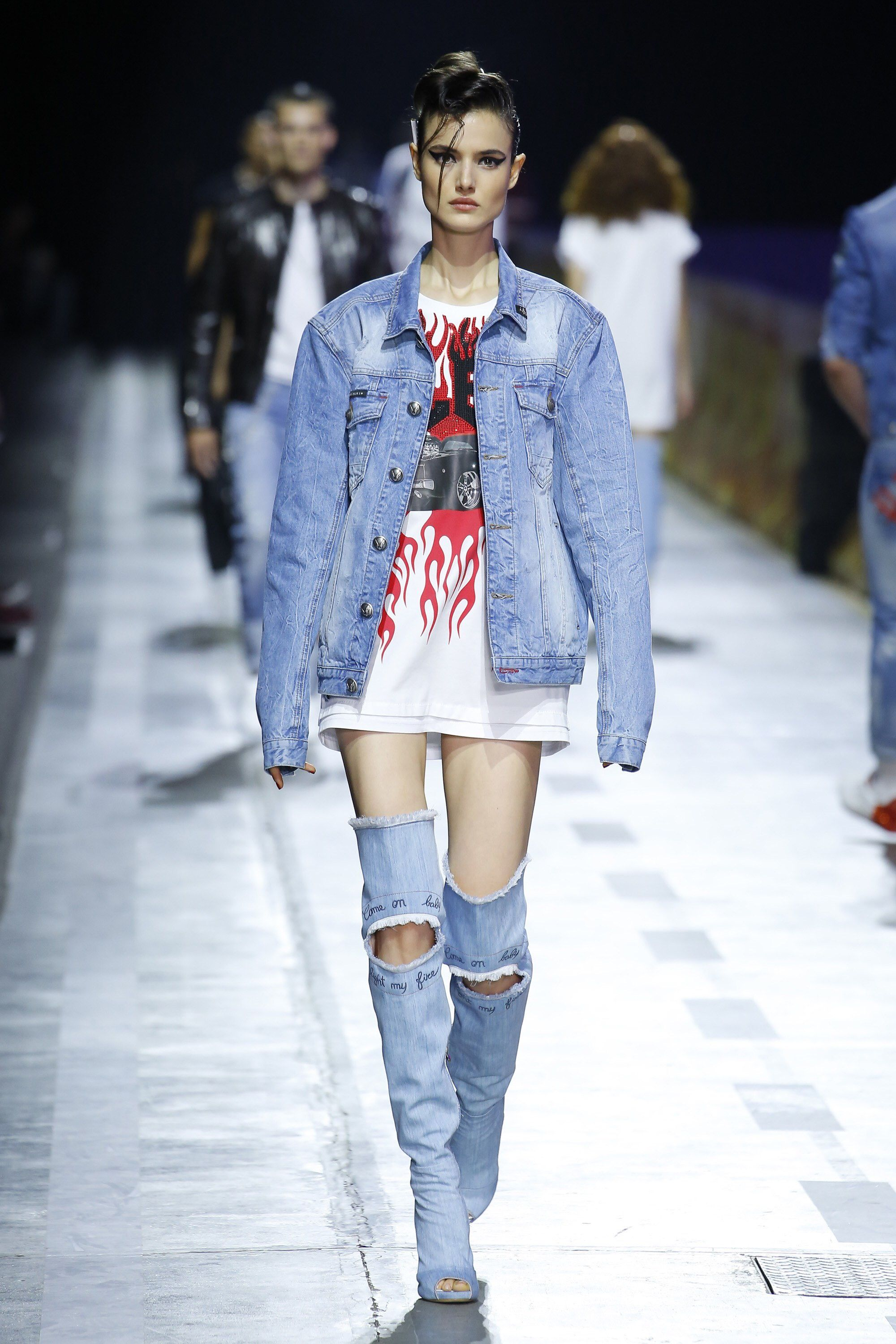 Philipp Plein 2018 Denim Pinterest Jeans Style