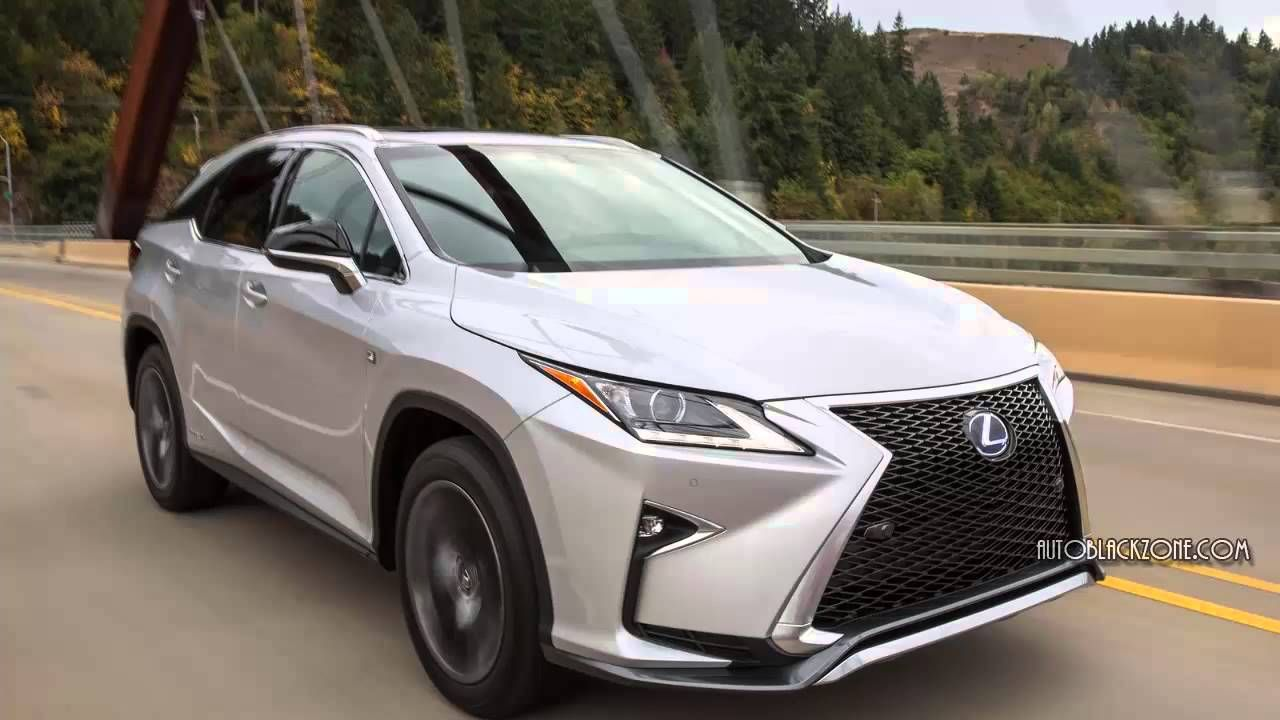 2016 Lexus RX 450h F Sport Engine Performance and Fuel