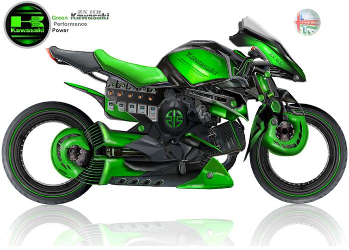 Kawasaki ZX HR by Lee Thompson