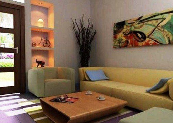 Foto Dekorasi Ruang Tamu Rumah Minimalis Type 36 | Ruang ...