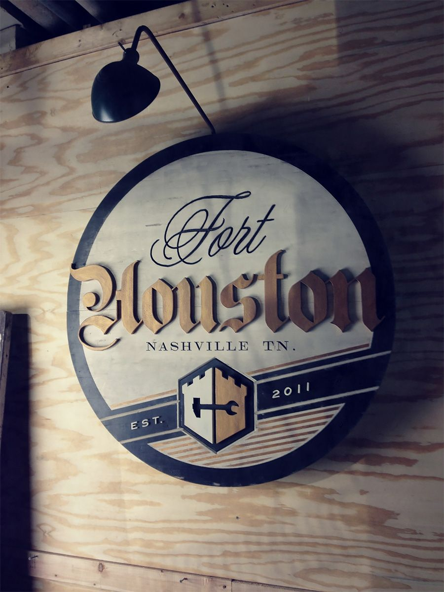 Awesome Signage by Sideshow Sign Co. | Inspiration Grid | Design Inspiration