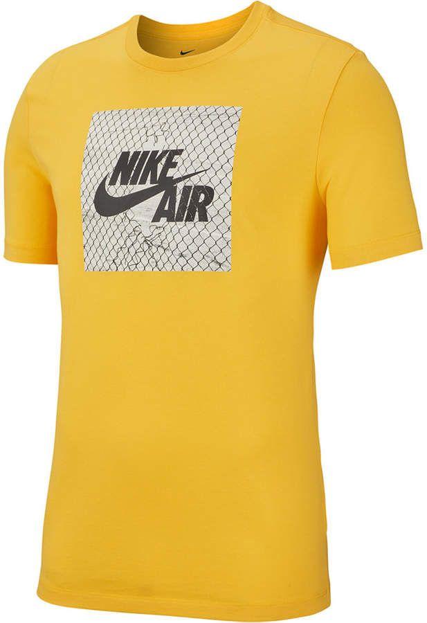 tee shirt nike orange homme