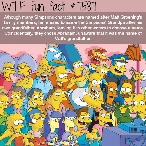 The Simpsons Characters Wtf Fun Facts The Simpsons The Simpsons Movie Simpsons Characters