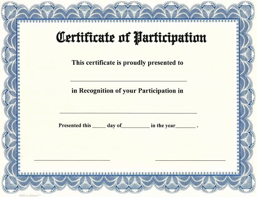 Award Certificate Template Google Docs Lovely Certificat Certificate Of Participation Template Certificate Of Achievement Template Certificate Of Participation