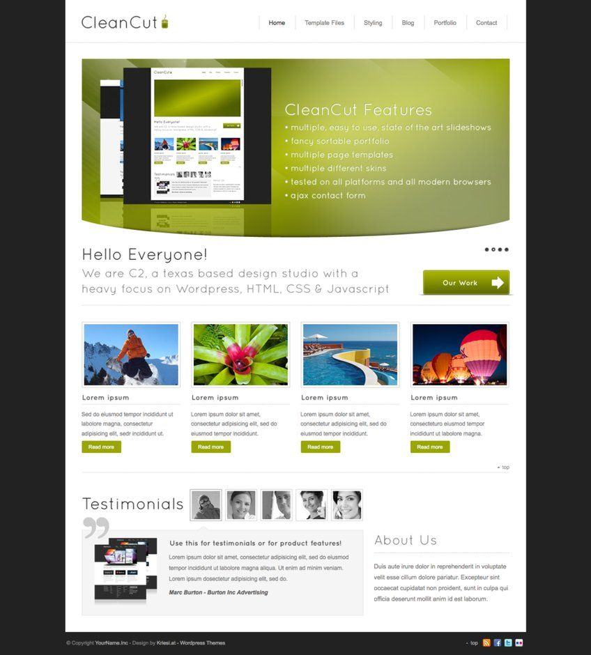 website-design-web-design-templates-layouts-web-designer-business ...
