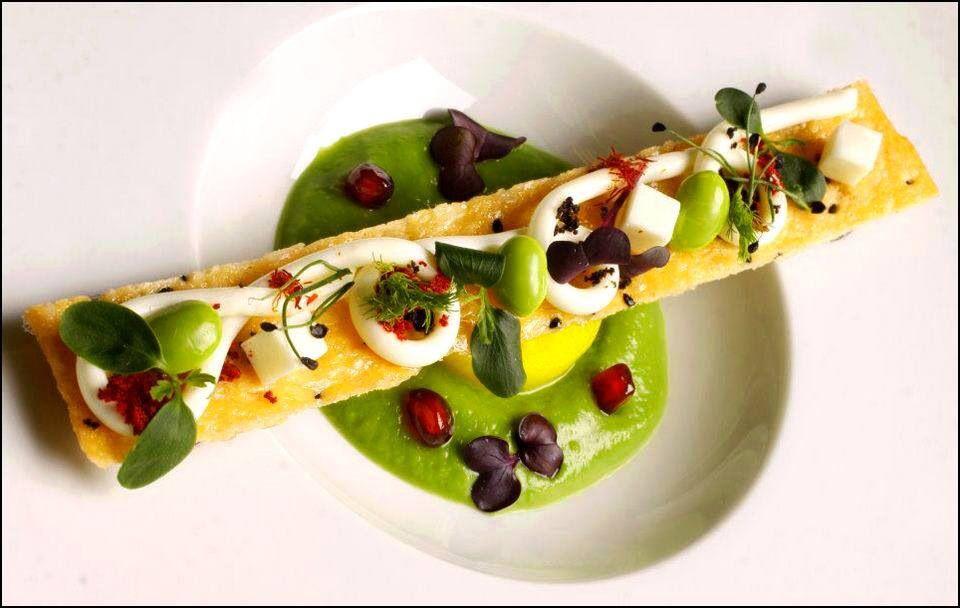 Henrik sebok l 39 art de dresser et pr senter une assiette for Stage de cuisine gastronomique