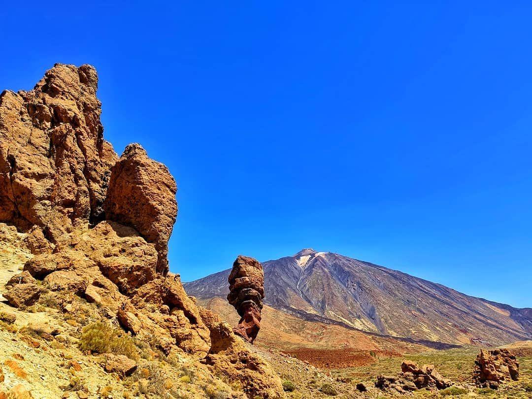El Teide 3 718 M Teide Volcano Tenerife Canarias Spain Sky Explore Nature Panorama Landscap With Images Canary Islands Travel Photography Tenerife