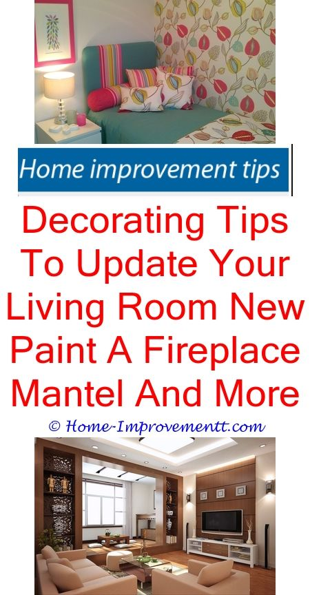Decorating Tips To Update Your Living Room New Paint A Fireplace ...