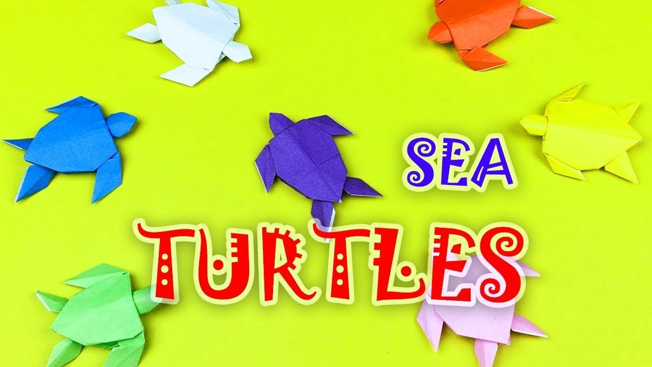 How to Make an Origami Turtle Step by Step Instructions   Free ...   720x1280