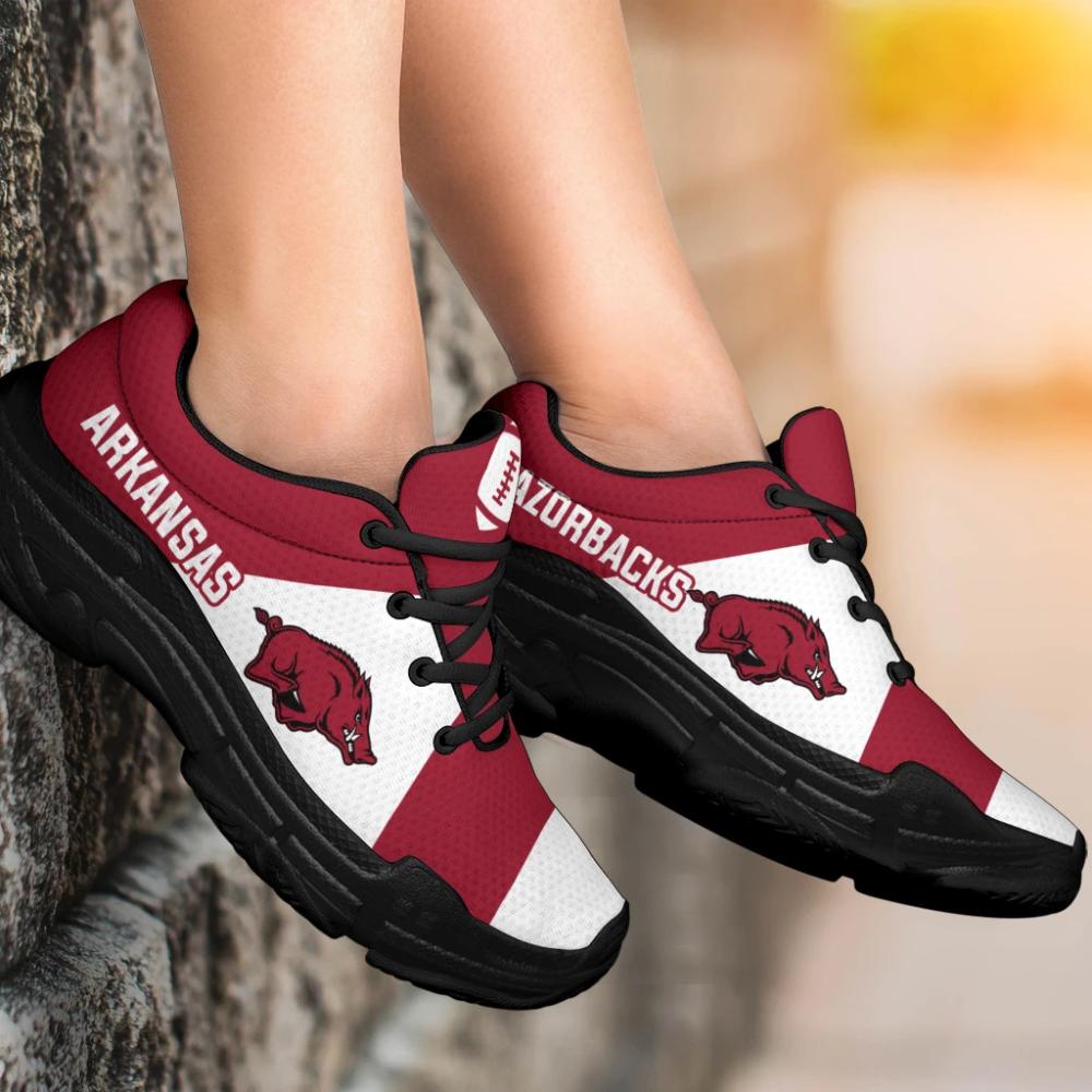 Pro Shop Logo Arkansas Razorbacks Chunky Sneakers (Có hình