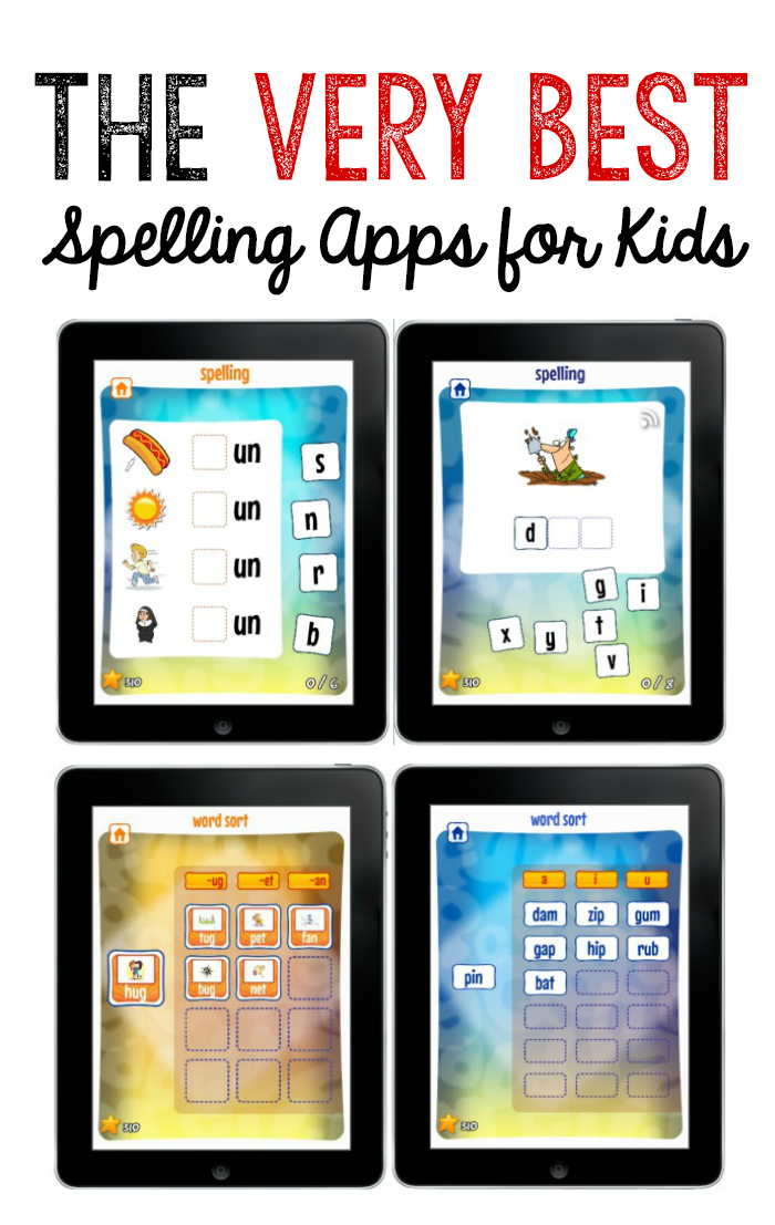 The Best Spelling Apps For Kids Best Of The Measured Mom