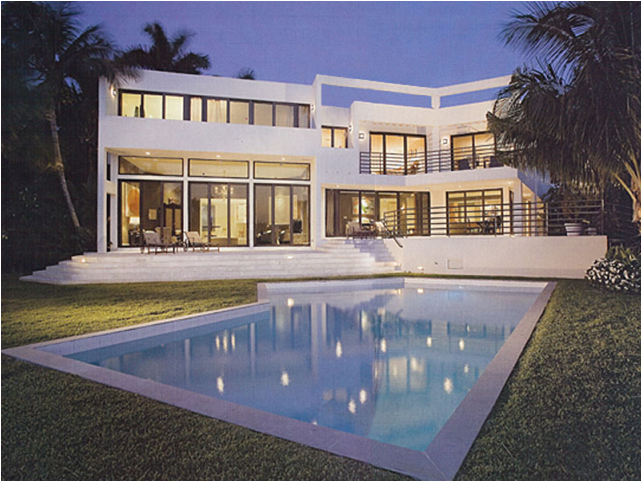 Todd Davis describes his Miami house designs by Brown ...