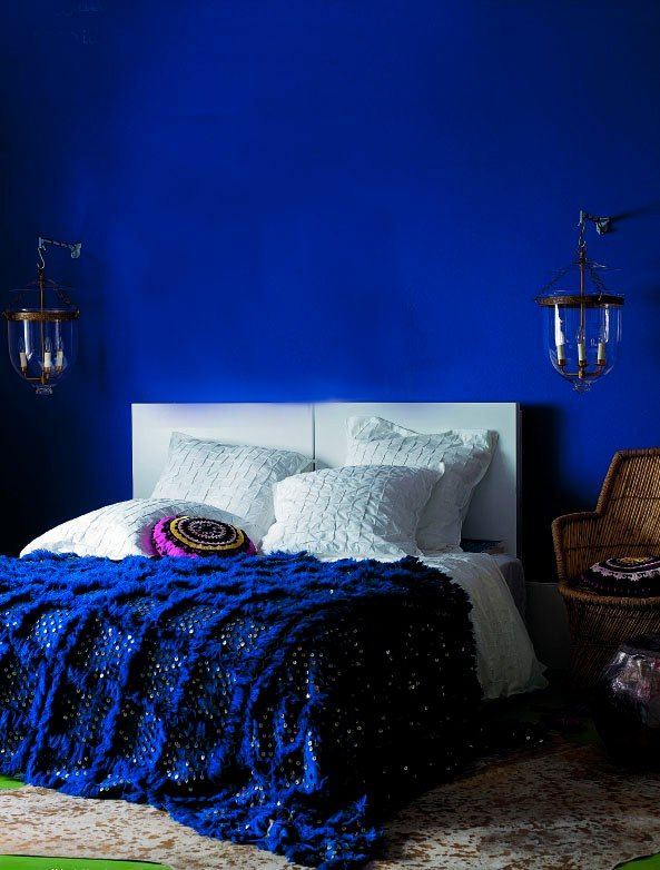 20 Marvelous Navy Blue Bedroom Ideas | Blue bedroom walls ...