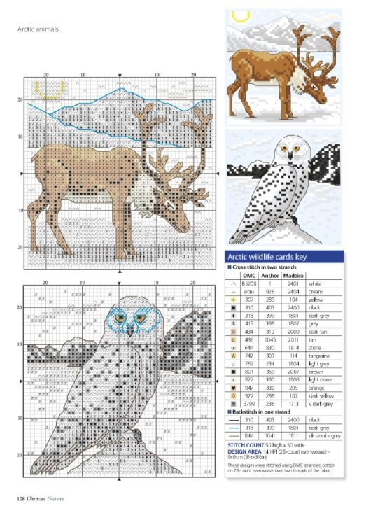 Photo of Gallery.ru / Фото #128 – Ultimate Cross Stitch-Nature-Vol.10-2016 – tymannos…